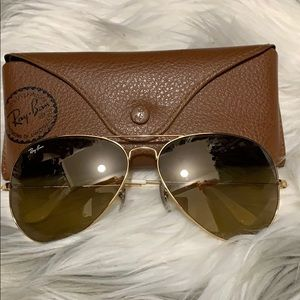 Ray-Ban original 62mm large aviator sunglasses